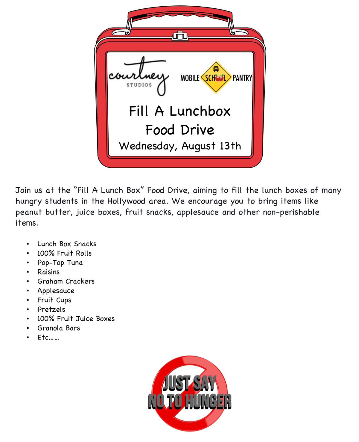 Fill-A-Lunch-box
